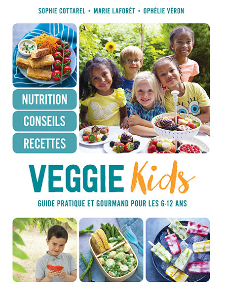 Veggie kids, le guide à destination des enfants et des parents dégantes