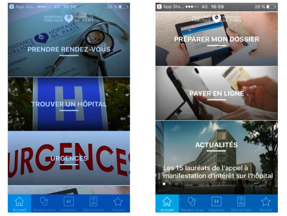 AP-HP, une appli destinée à faciliter notre quotidien