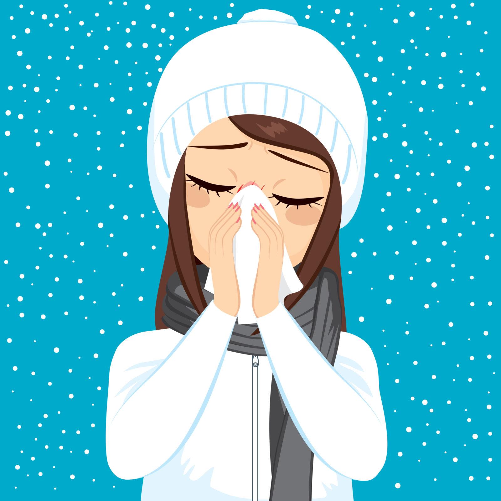 Pourquoi a-t-on le nez qui coule quand il fait froid ?