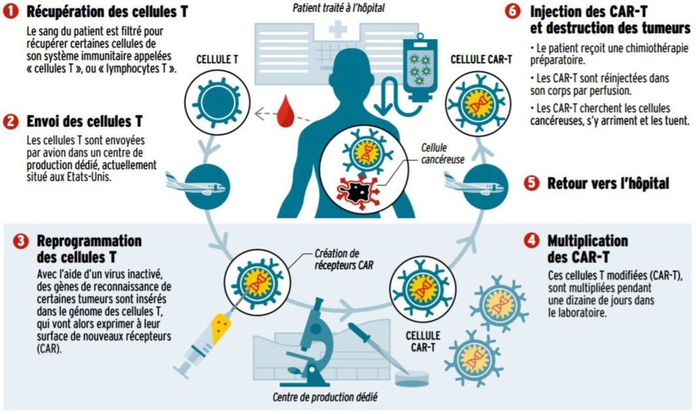 la thérapie génique pourrait sauver de nombreux cas de cancer chez les enfants