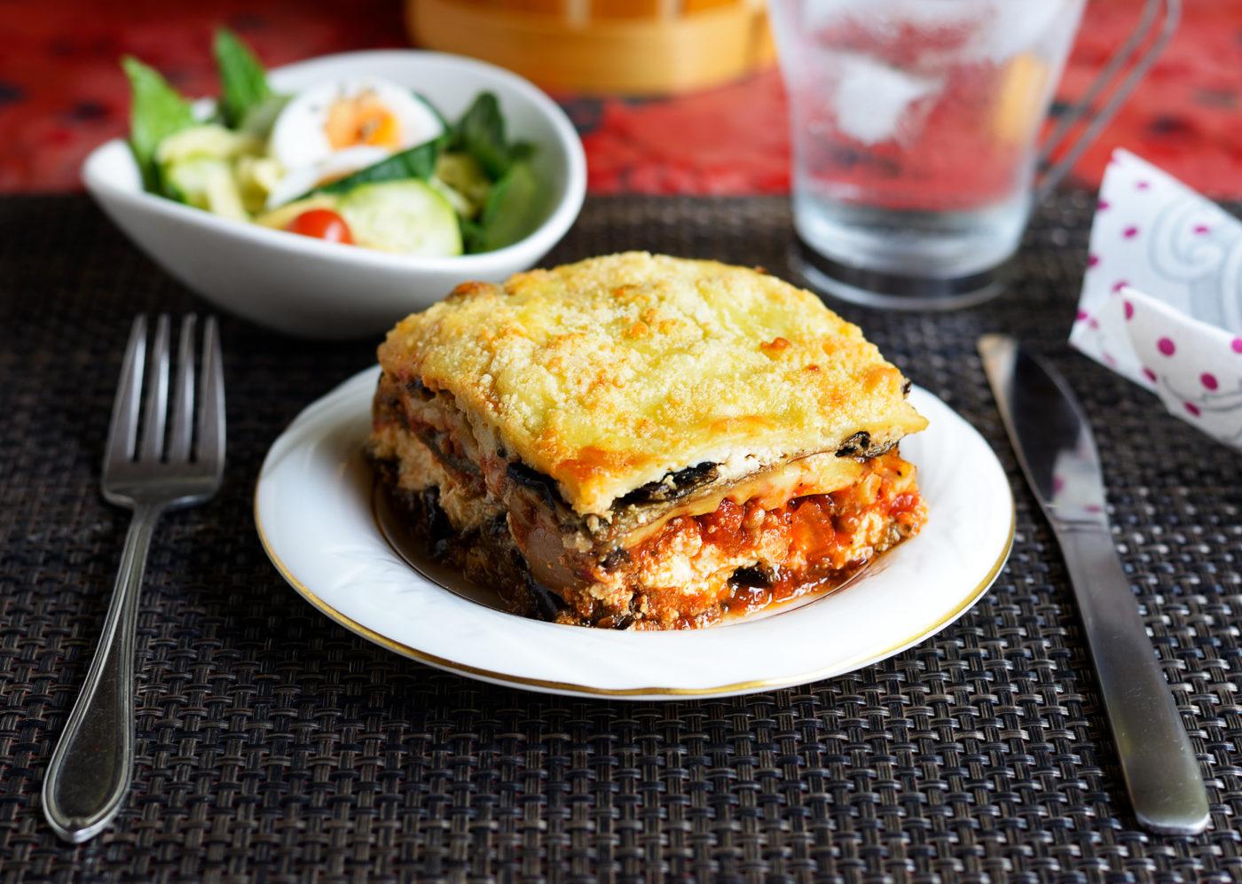 de délicieuses lasagnes à cuisiner pour un IG bas !