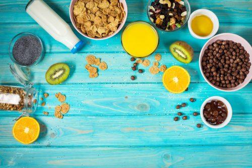 Un bon petit-déjeuner pour bien démarrer la journée