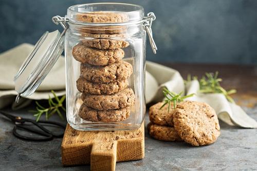 Cookies fruits secs et graines de chia