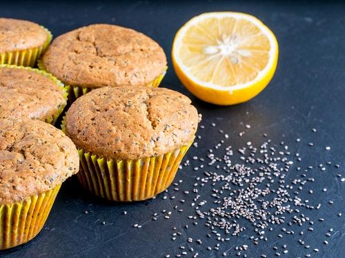 Muffins aux graines de chia