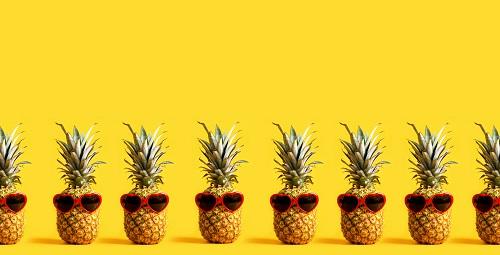 ananas en verrine
