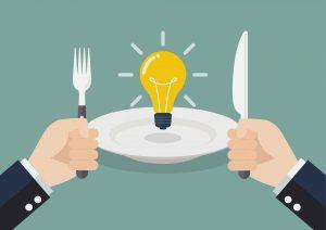 MICI : l'alimentation en phase de poussée