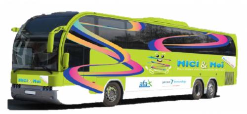 Le bus MICI & Moi affrété par l'AFA