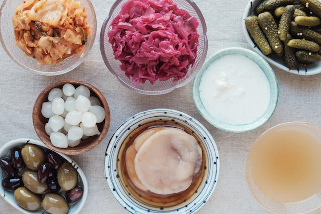 Des aliments fermentés ou probiotiques