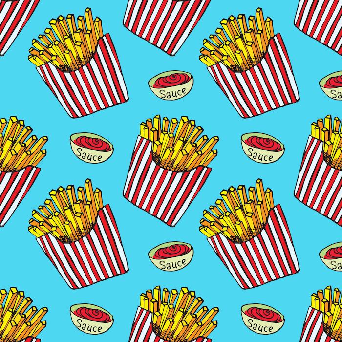 réduire la matière grasse des frites