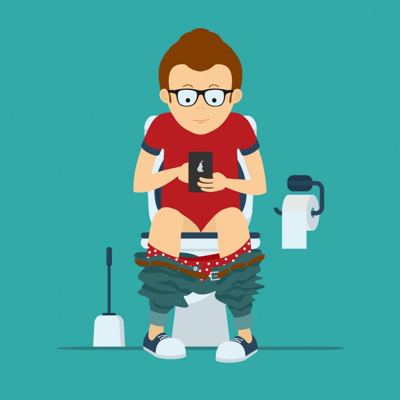 7 fois plus de bactéries sur votre téléphone que sur la cuvette des toilettes